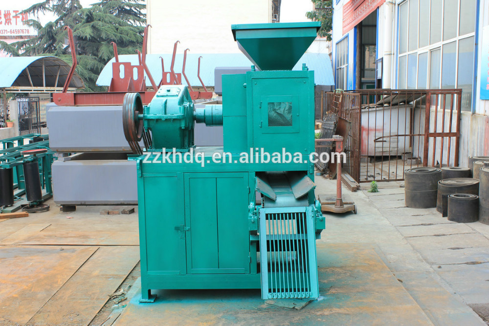 Customers high praise product iron ore briqutting press machine/aluminum powder ball briquette making machine