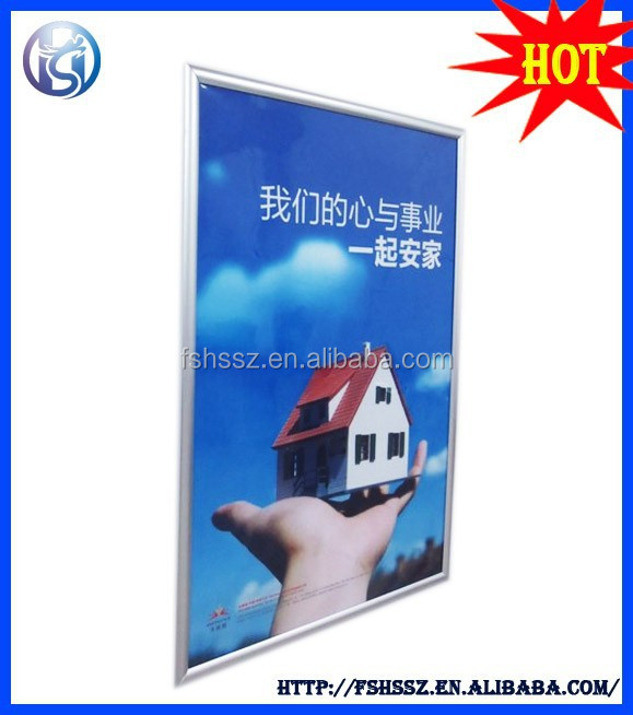 Wall Hanging Board A1 or Customized Poster Snap Frame HS-K27