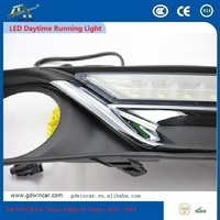 Auto e90 Angel Eyes Flexible Drl Led Daytime Running Light For Nissan Sylphy Or Sentra Or Pulsar 2012 - 2015