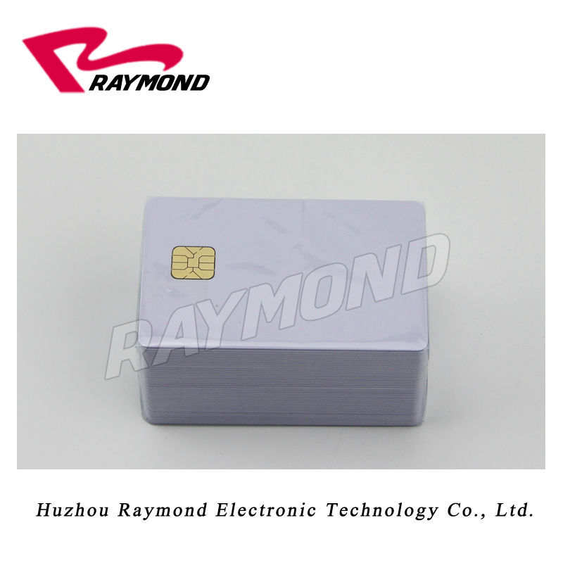 Contact 4428 Chip card with magnetic strip can printed by card printer