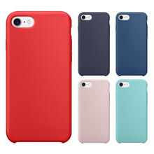 For iPhone 7 Silicone Case, cellphone silicon case hot selling, silicone phone cover