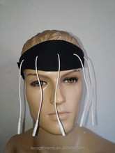 Conductive fabric brain wave detect EEG Headband pads with brain electrode