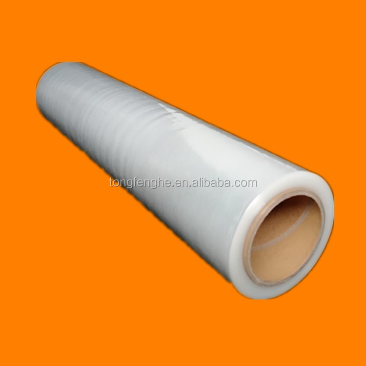 Customized Transparent Plastic Stretch Film With Paper Core Tube Wholesale