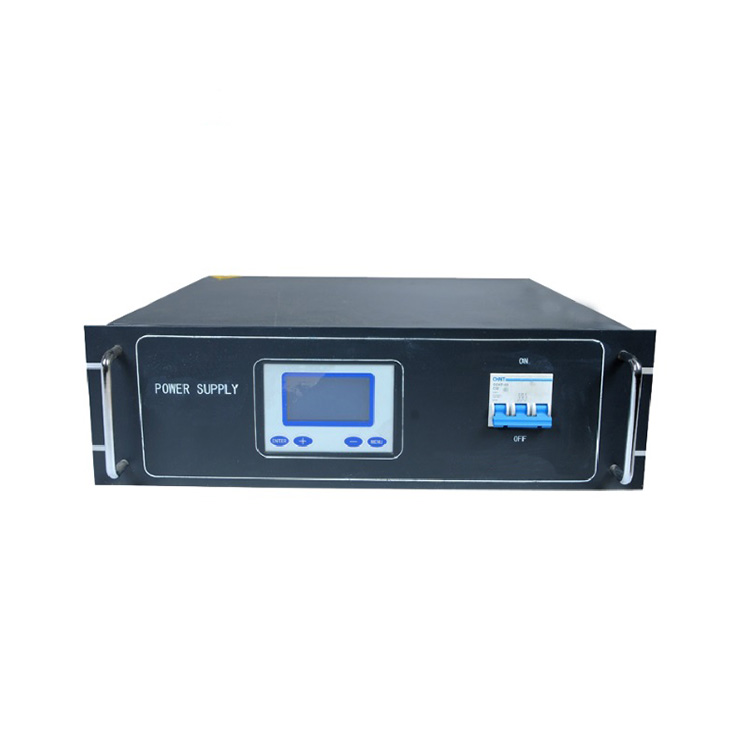 LCD display high efficiency 20KW 40KHz MF Power Supply for coating machine