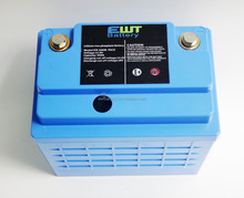 EWT Battery 26650 cell 12v 100Ah Lifepo4 Battery Pack for Solar Power Storage System
