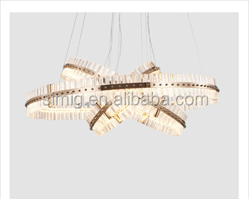 Post-modern style crystal pendent lamp with good quality made in China