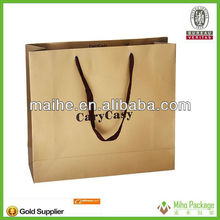 unique paper gift bag/gold paper gift bag/paper bag gift bags