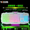 Professional and Multimedia USB Gaming Keyboard wired keyboard for PC Laptop New arrival!--LK612--Shenzhen Ricom