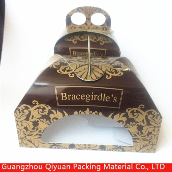 China supplier Custom elegant packaging cartons of cookies food with PVC window