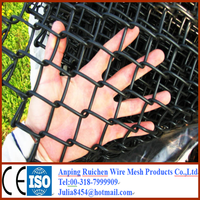 High cost-effective! used chain link fence panels real factory
