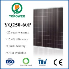 best quality 250 watt solar panels from