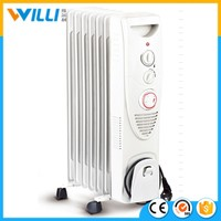 OIL FILLED HEATER WITH TIME AND FAN(CE/GS)