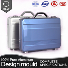 HLW poker metal handle executive men aluminum briefcase