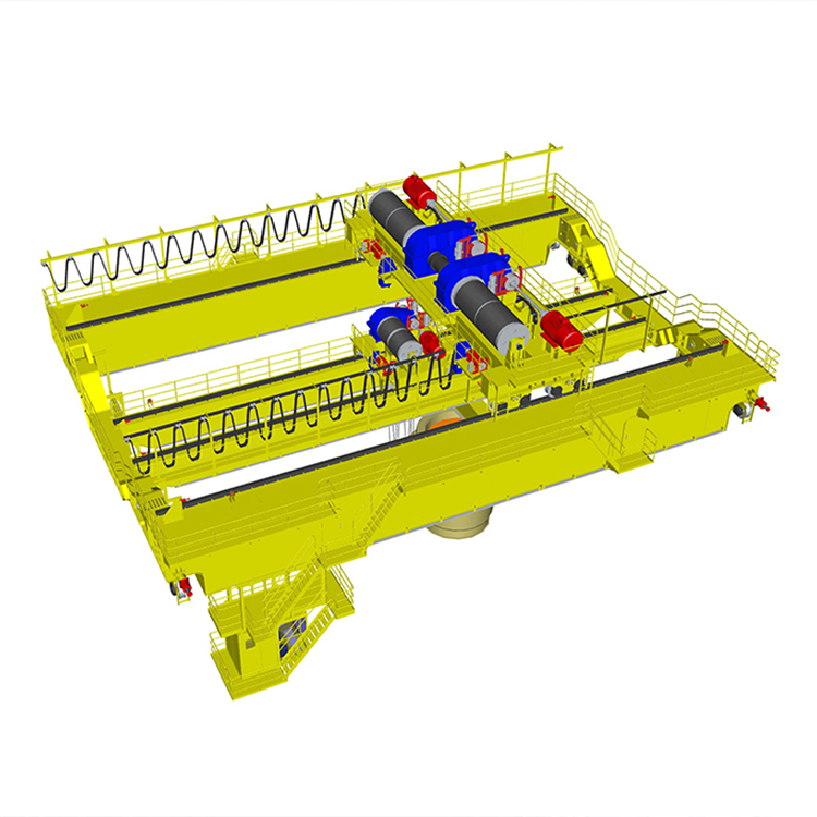 QDY/YZ Type100t Bridge Casting Crane for Steel Plant