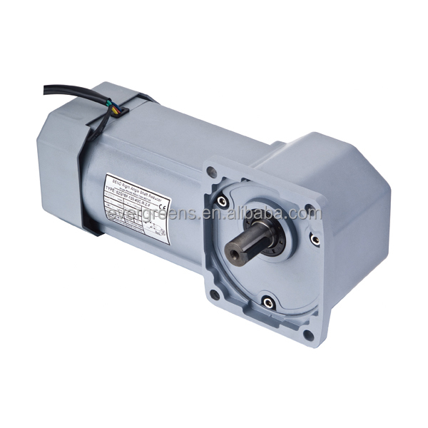 90W hyperboloid right angel gear small transmission gearbox