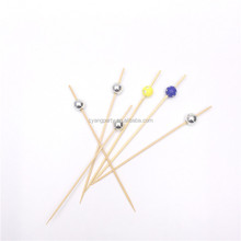 12CM Decorative Cocktail Party Food Pick with Colorful Ball