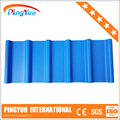 UV protected roofing material upvc teja/pvc roofing sheet/plastic upvc roofing tile