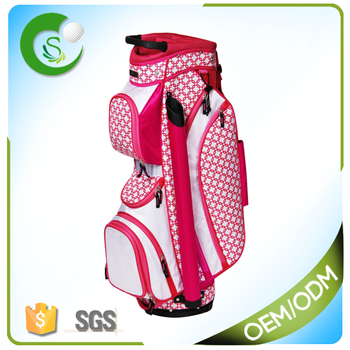 Latest Fashion Custom Ladies Golf Cart Bags