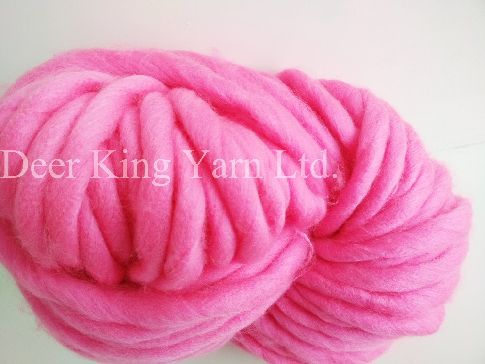Acrylic Wool Yarn Dyed,Thick Yarn - Buy Super Chunky Yarn,Acrylic Wool ...