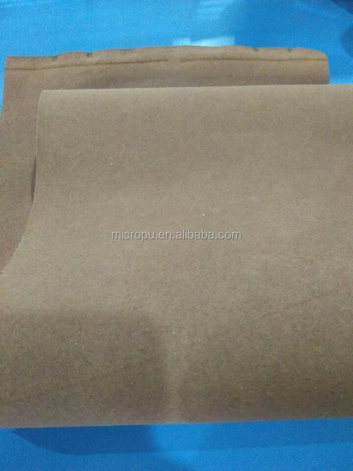1.4 mm gray suede upholstery fabric
