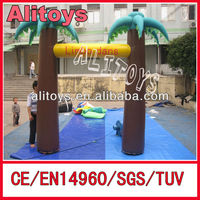 Beach tree inflatable arch/advertising inflatable