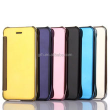 flip electroplating mirror case #21 for iPhone 5G/5S/SE