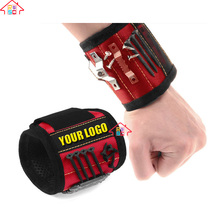 SUPER STRONG Magnetic Wristband for Holding Small Metal Tools, Screws, Nails, Bolts Tightly