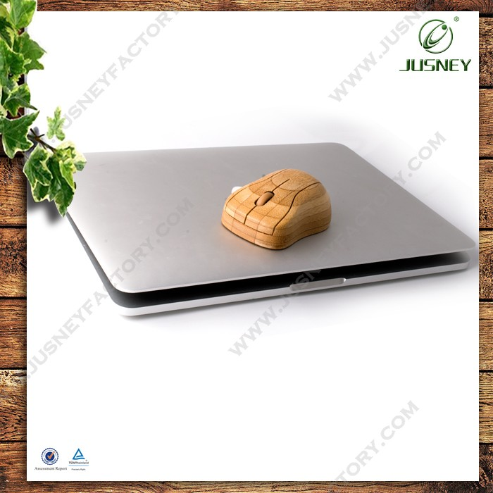 2.4Ghz wireless USB Optical Real Bamboo Mouse for Computer or Laptop