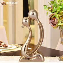 Custom traditional wedding souvenirs gift love couple family figurines statues resin craft product