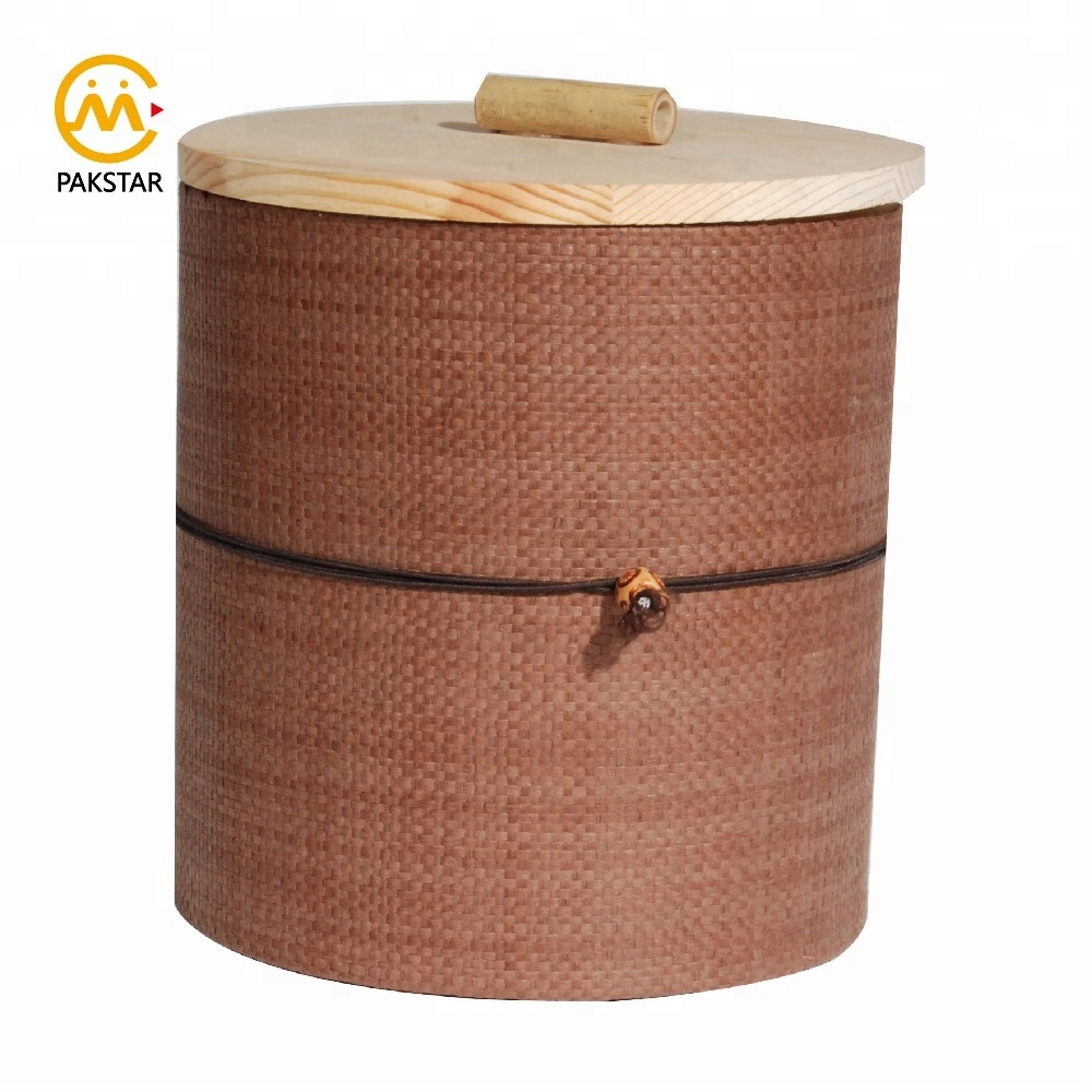 New elegant design customizable texture cardboard round empty tea packaging tube box