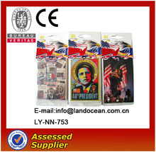 Promotional customized printed fresh car paper air freshener