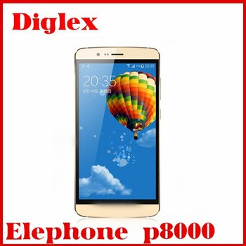 New Arrival Elephone P8000 MTK6753 Octa Core 1.5gzh 3GB Ram 16GB Rom 5.5 Inch 13MP 4g lte Play Store Language Android smartphone