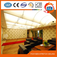 luminescent pvc stretch ceiling film materials manufacturer
