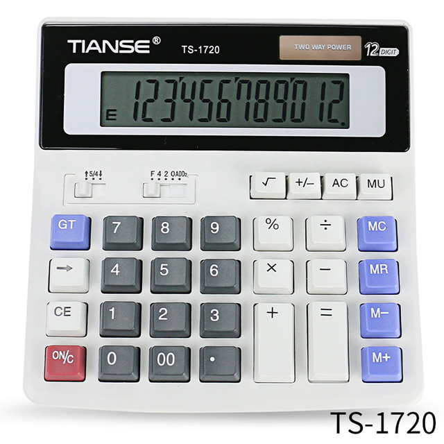Customized Solar/ Battery Standard Function Desktop Calculator