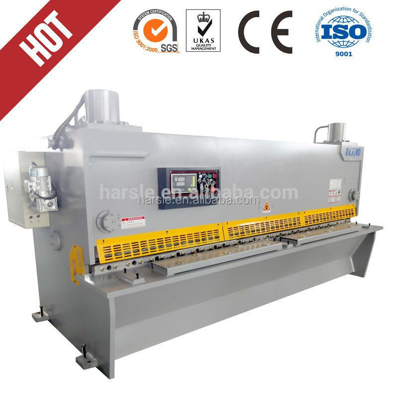 Aluminum cutting machine manual/QC11Y-20*5000 metal shearing machine
