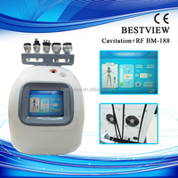 Double chin removal skin rejuvenation cavitation rf vacuum machine with ce