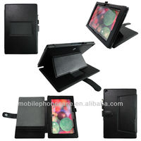 Hot sell flip stand leather case for Sony Z2 with multi-angel