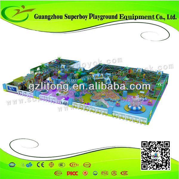 CE GS Proved the names of playground equipment