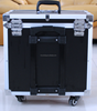 Large capacity trolley aluminum tool case professional storage box