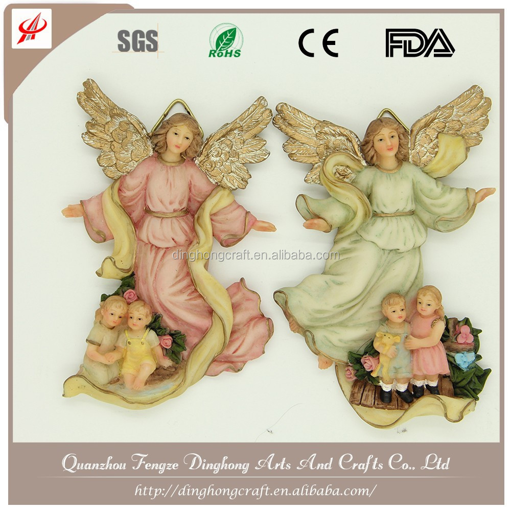 Small Angels And Fairy Figures, Resin Figurine Greek Statue