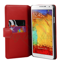 Wallet Card Slots Phone Leather Case for Samsung Galaxy Note 3