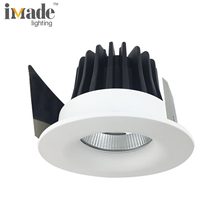 220v cob 6w 9w led ceiling recessed light fitting