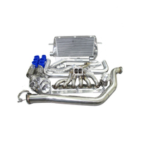 Turbo Intercooler Piping Kit Manifold For 1986-1992 Supra 7MGTE MK3