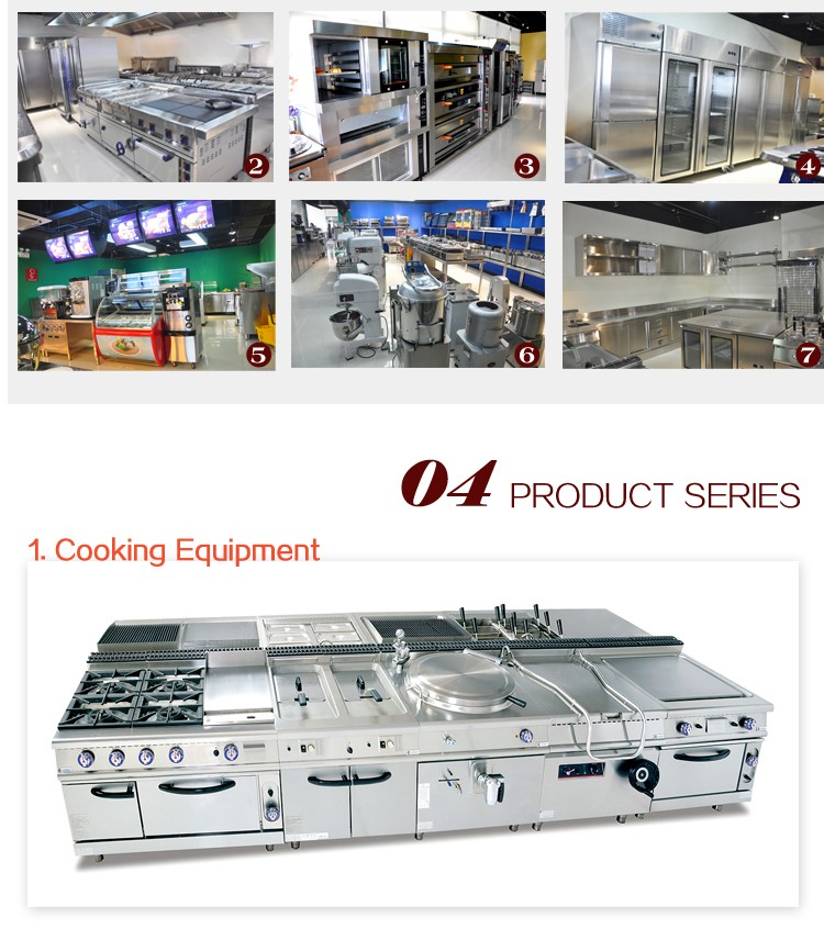 Full Solution 5 Star Hotel Commercial Used Kitchen
