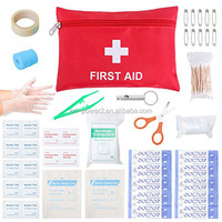OP FDA CE ISO approved mini pocket mini first aid kit for travel, running, biking