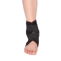 Multidirectional medical stretch neoprene ankle support and brace / elastic ankle belt strap for foot fracture or swelling