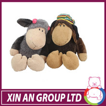 2014 new cute fine plush fabric stuffed animal plush toy