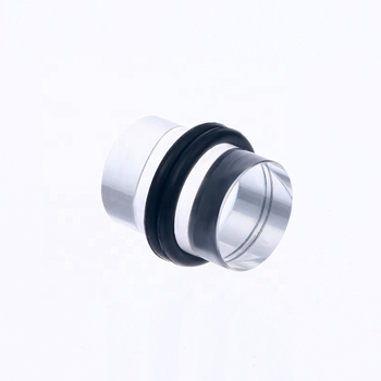 New Design Clear Acrylic Ear Plugs Tunnel Expander Piercing Ear Gauges With O-Ring