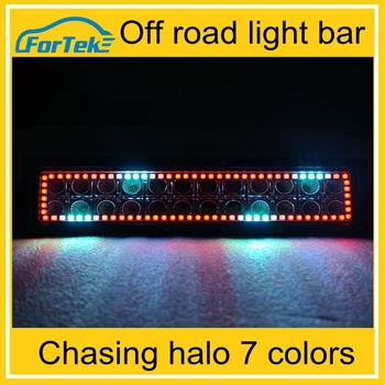 Wholesale rechargeable led light bar color changing RGB light bar