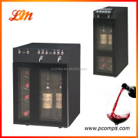 Electrical 8 Bottle With Adjustable Reducing Valve Wine Cooler